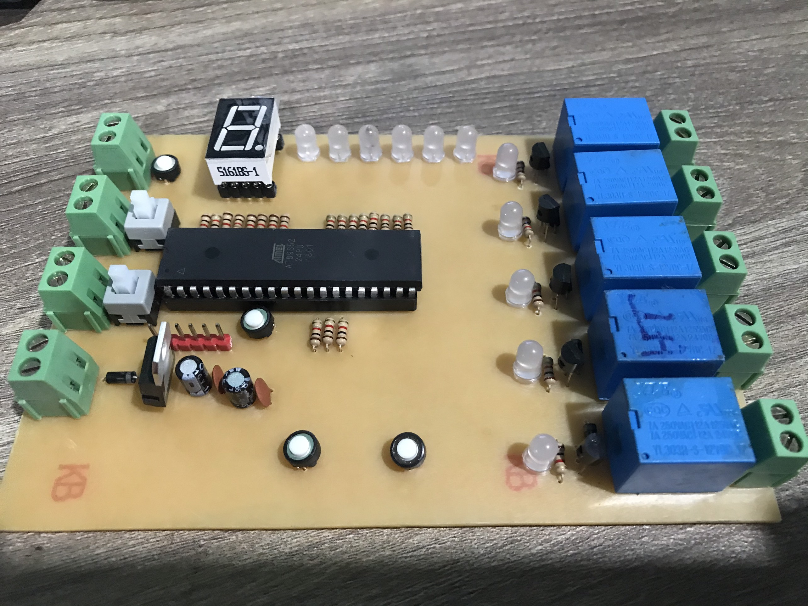 Full file thiết kế bộ mạch điều khiển máy giặt 89S52 LDNam - Điện tử LDNam