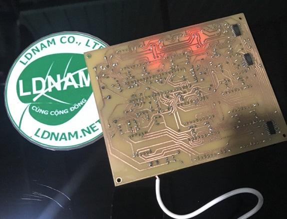 Full file mạch lịch vạn niên 19 LED 7 đoạn LDNam đa năng - Điện tử LDNam